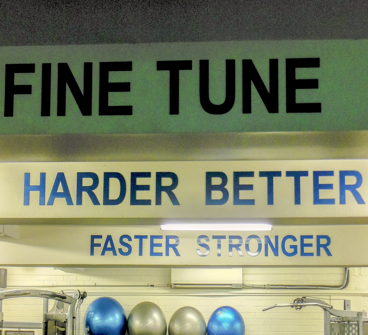 Fine Tune Fitness Gym South Perth Interior Branding