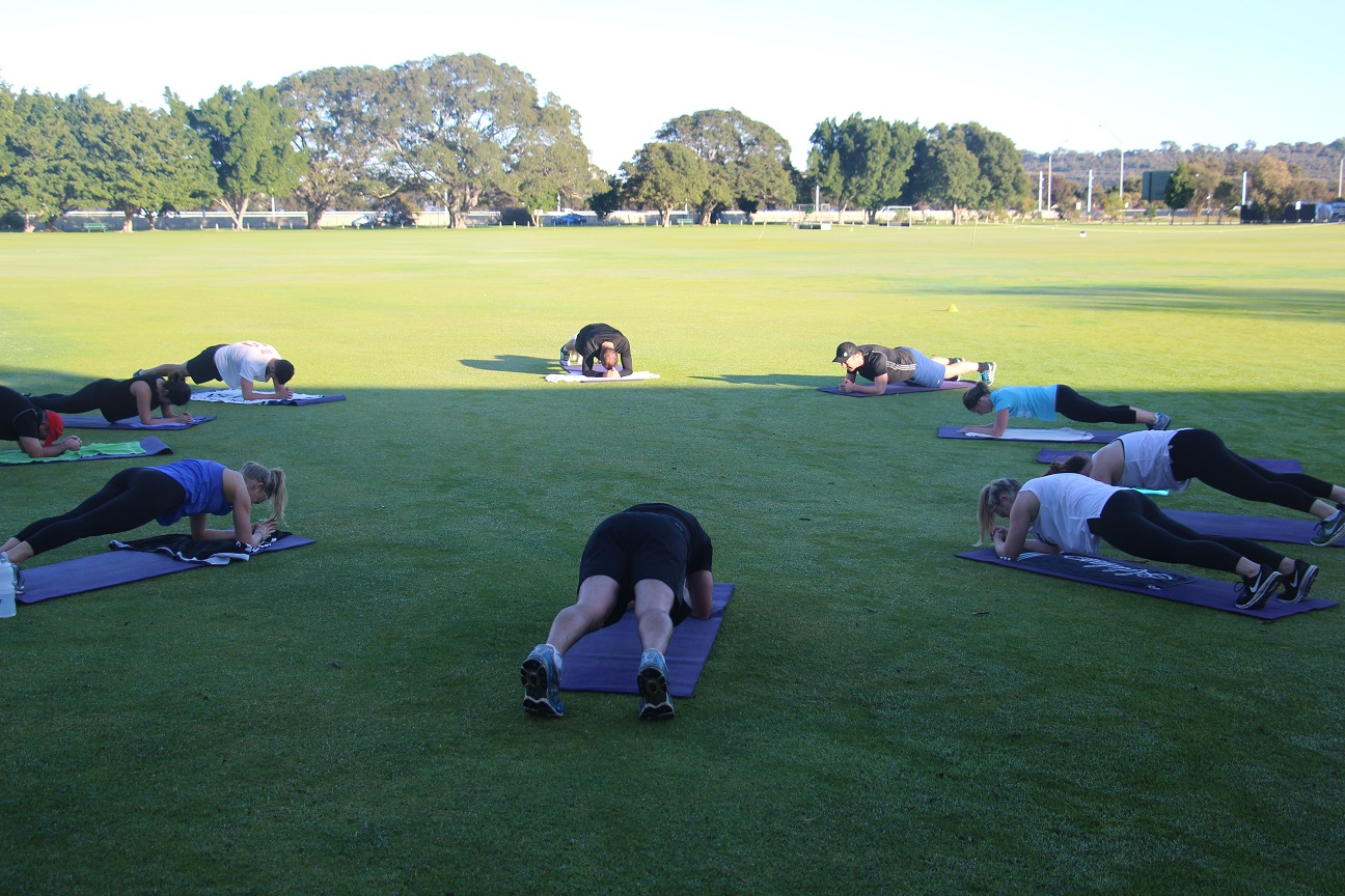Fine Tune Fitness Gym South Perth - Outdoor core class