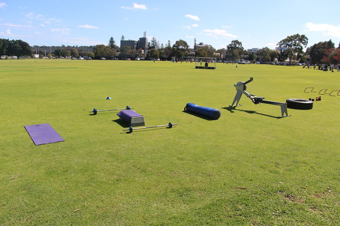Fine Tune Fitness South Perth - Exterior Group Fitness Training